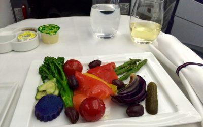 ANA flight to Tokyo