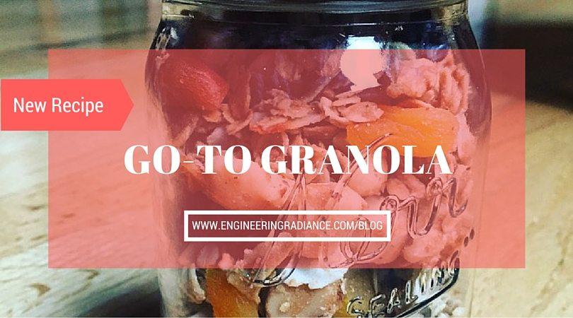 Go-to Gluten-Free Granola Recipe