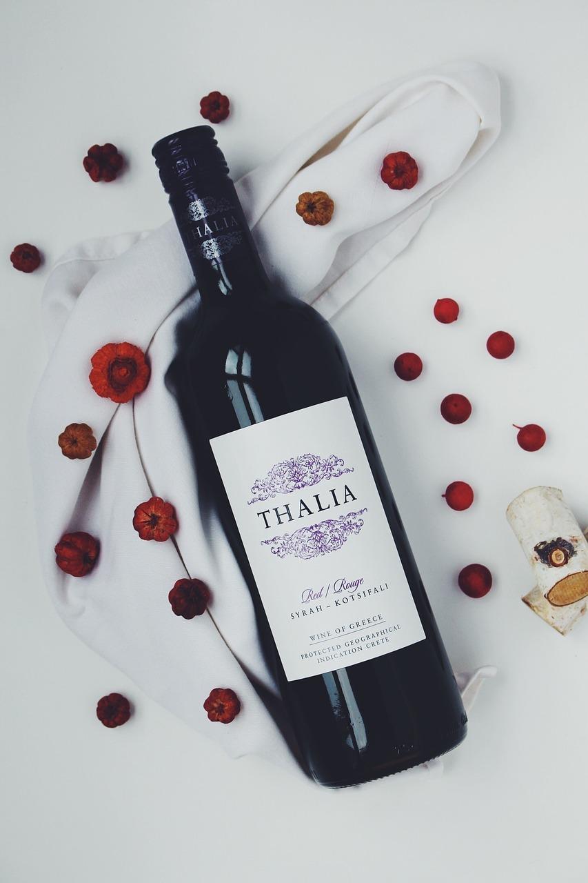 Дню, фото с надписью вино