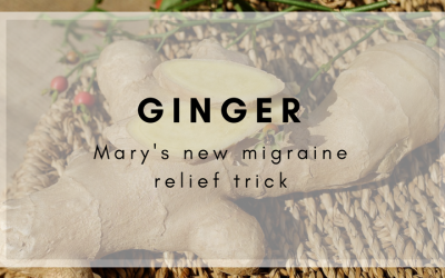 Ginger Provides Promising Relief for One Client's Migraines